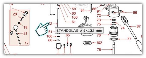 Ersatzteile durch Klick auf die Positionsnummer in der Explosionszeichnung finden